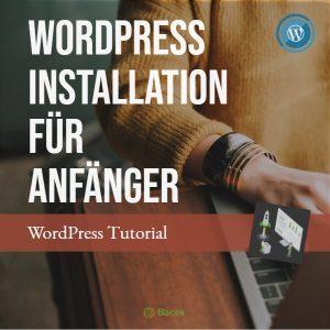 WordPress Installation Anfänger