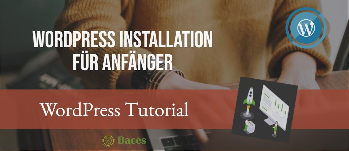 WordPress Installation Anleitung