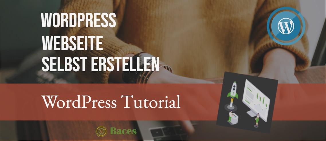 WordPress Webseite selbst erstellen
